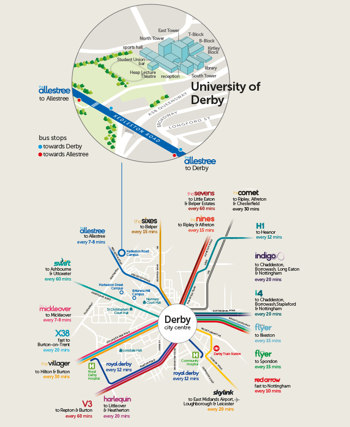 Map University Of Derby - Itb2c.store •