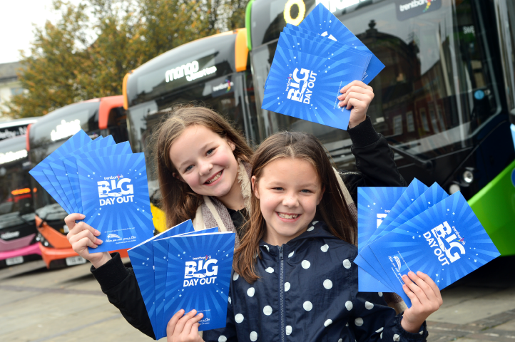 trentbarton's Big Day Out raised a whopping £1,211.13