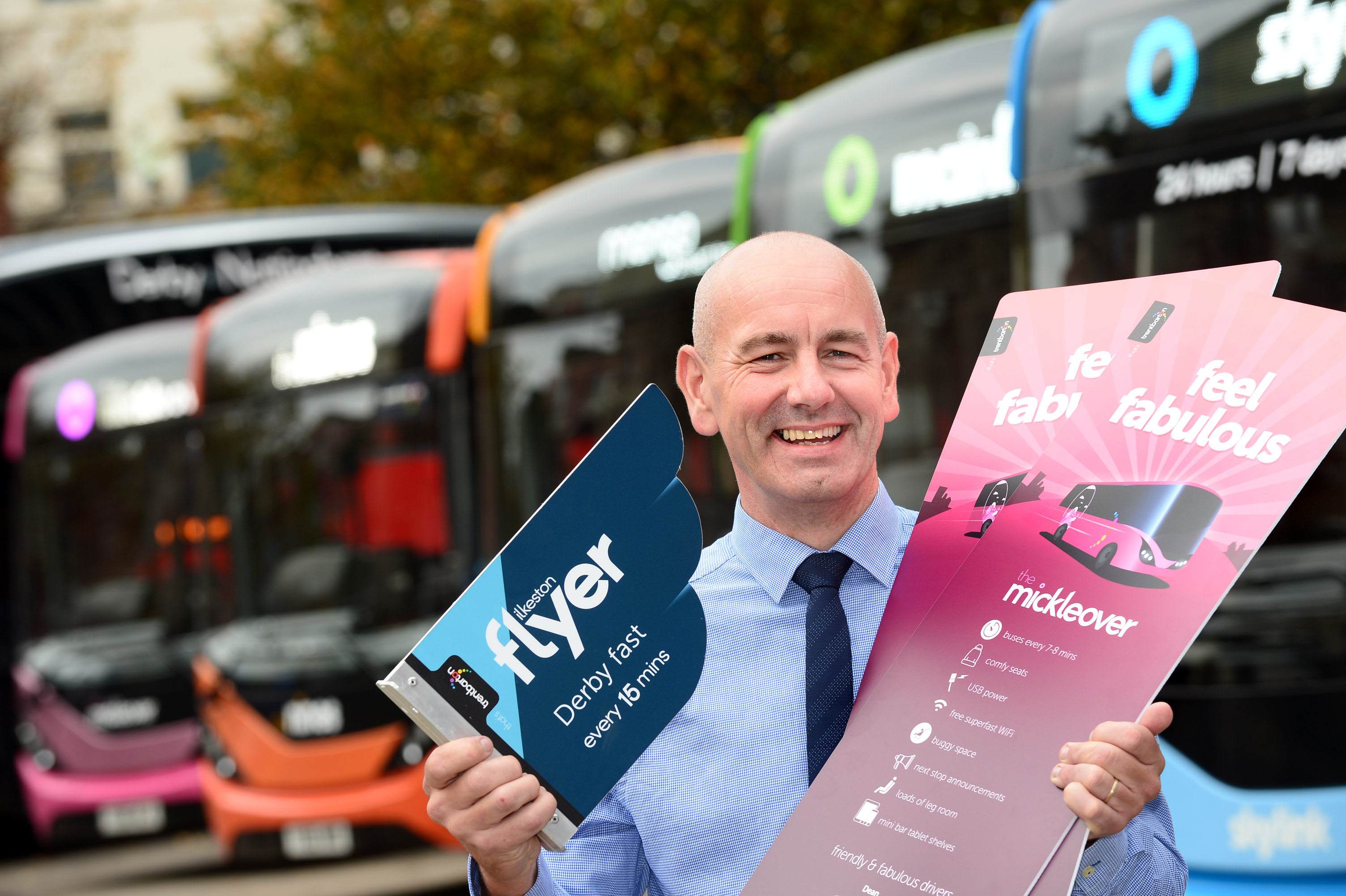 trentbarton's Chris Plummer, Gold winner in the UK Bus Awards 2017