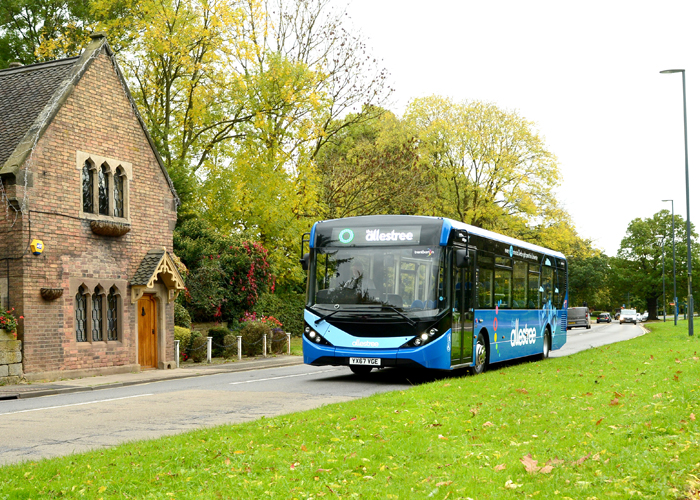 £1 million investment in 5 brand new buses