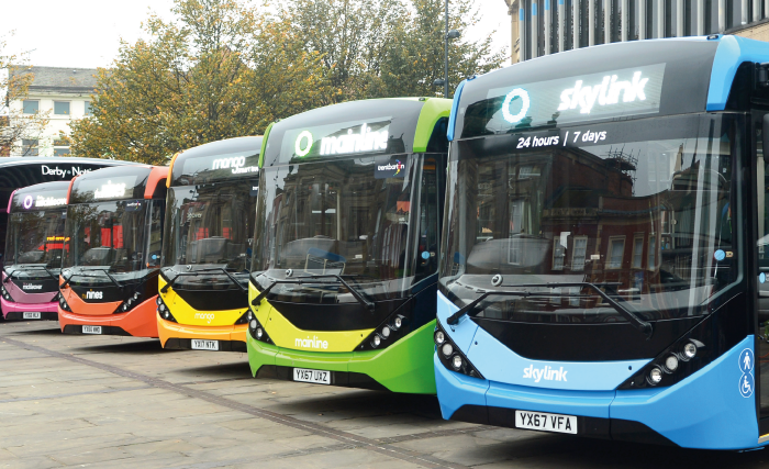 trentbarton's 30 new buses will help reduce pollution in Derby & Nottingham