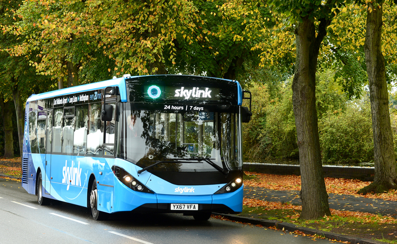 brand new buses for skylink have landed