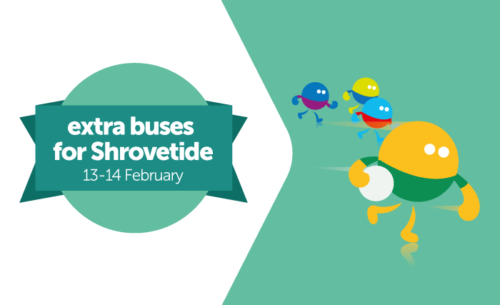 Be on the ball with extra buses to Ashbourne & Derby