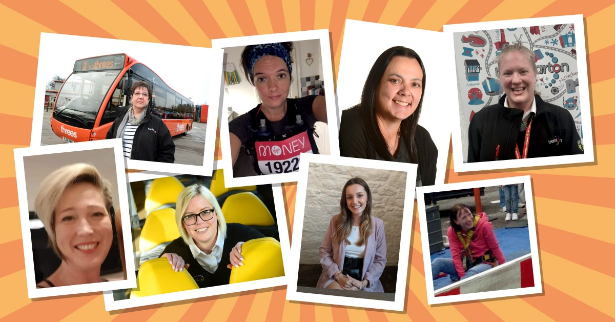 (L-R) Top row - Cherryl Holland, Annah Beardsley, Sharon Bailey, Cheryl Cooke. Bottom row - Nicola Grebby, Laura Pike-Smart, Scarlet McCourt, Caroline Bacon-Webster.