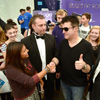 Simon Cowell takes a VIP ride with Nottingham students