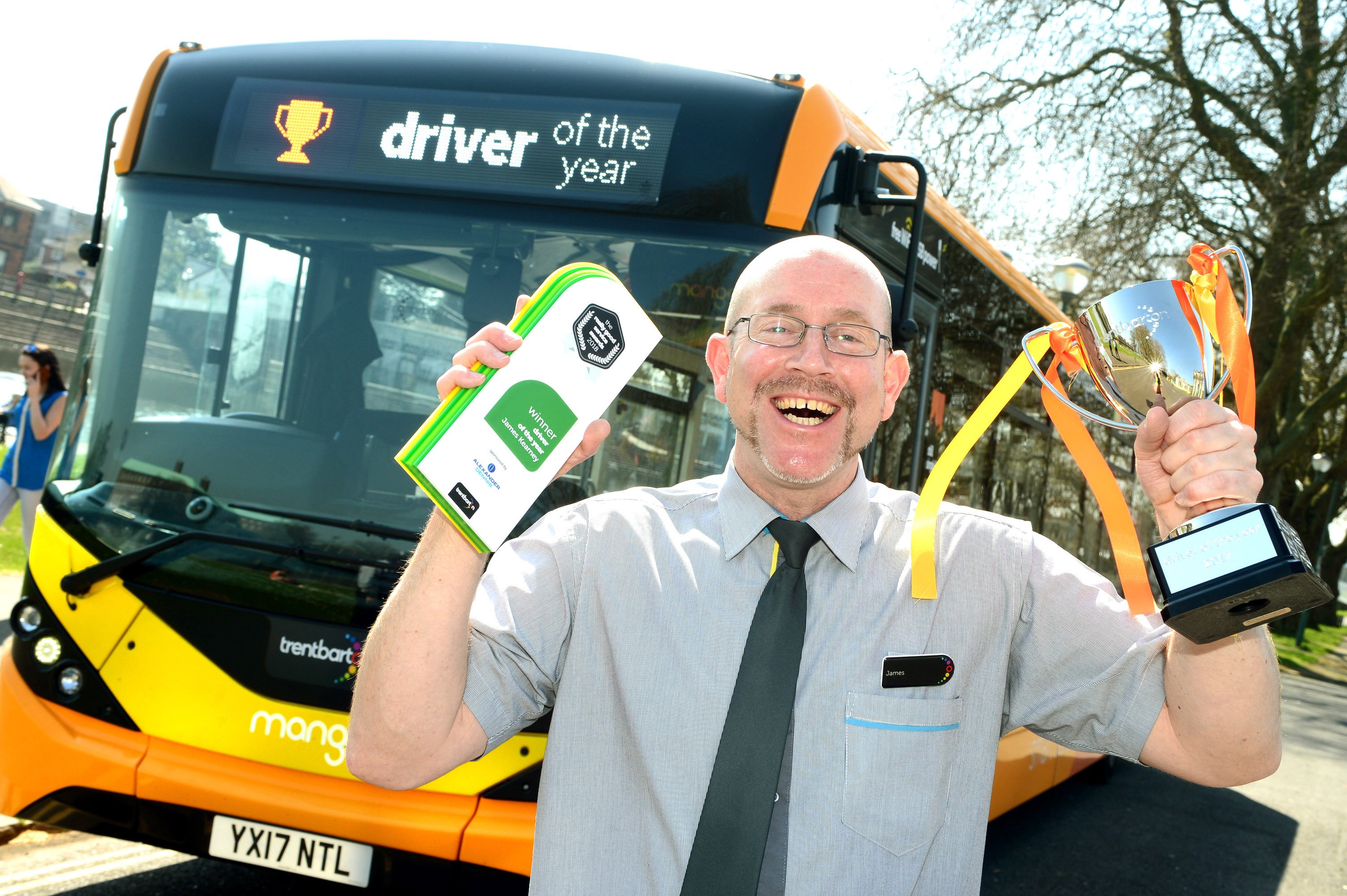 James in line to be UK Bus Driver of the Year