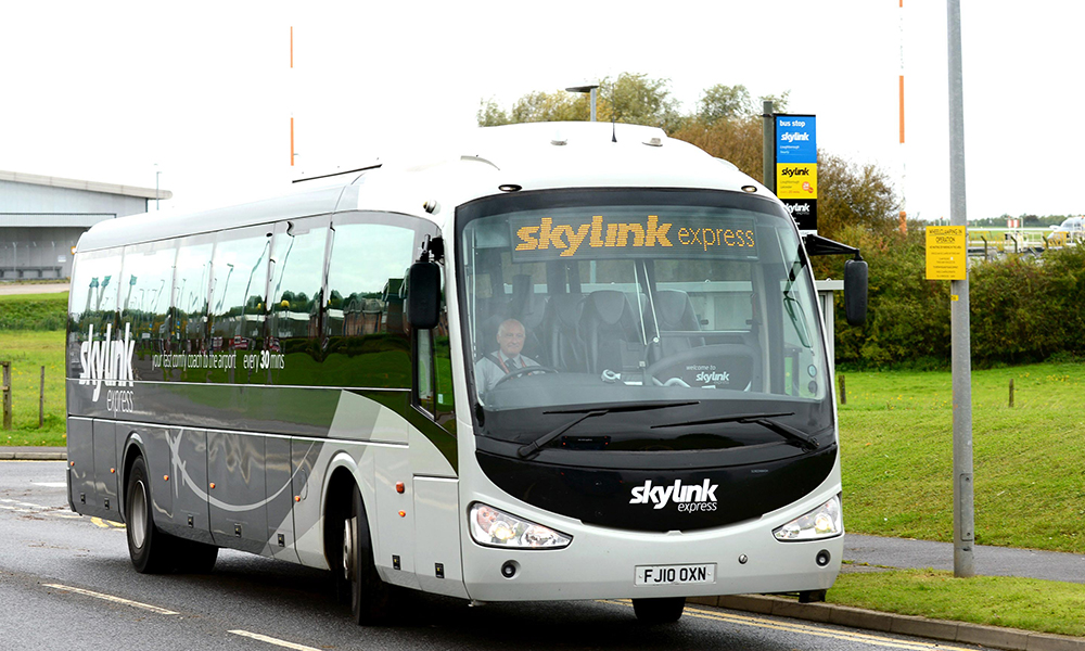 skylink express takes a more direct route