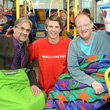 Bus marathon raises more money for the Lewis Mighty Fund