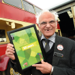 50 years on the buses and still loving his job