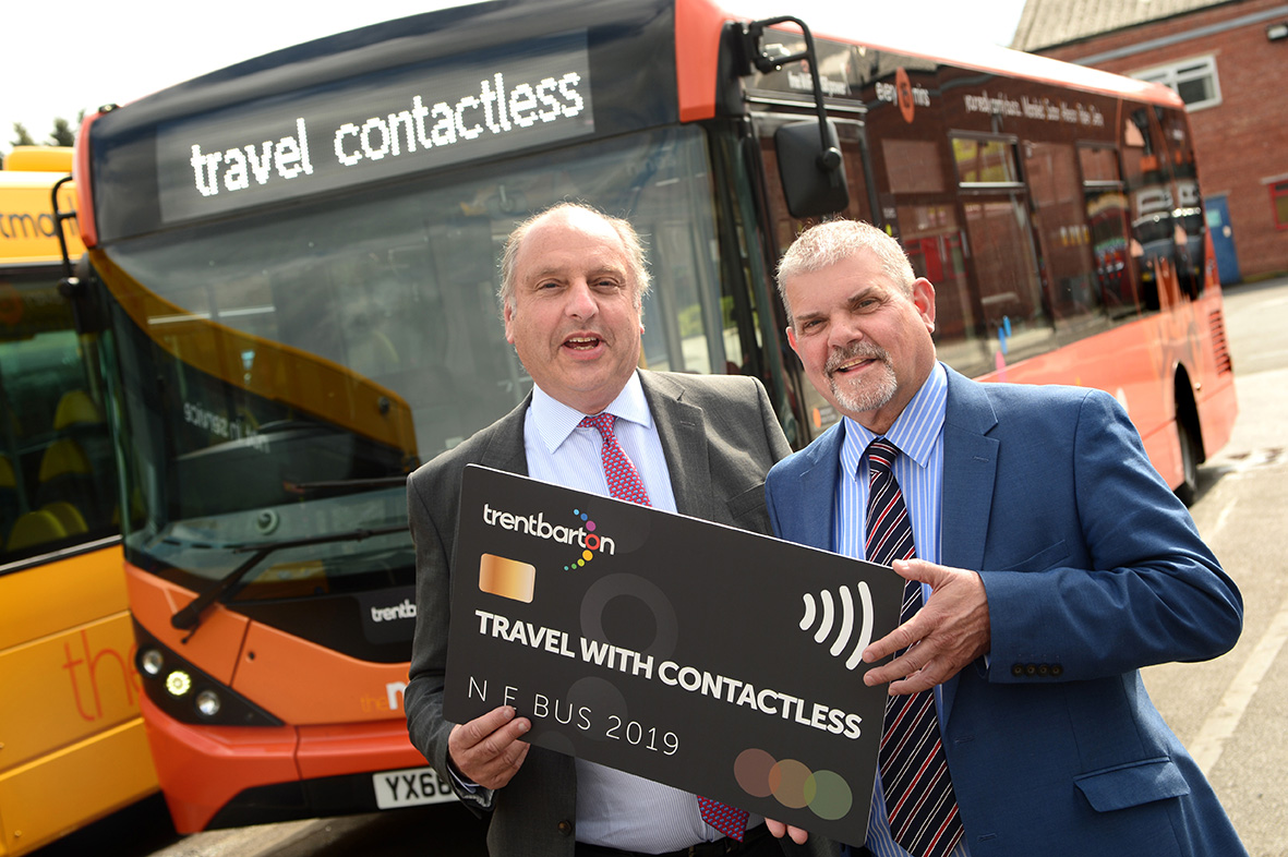 UK-first as trentbarton leads with contactless
