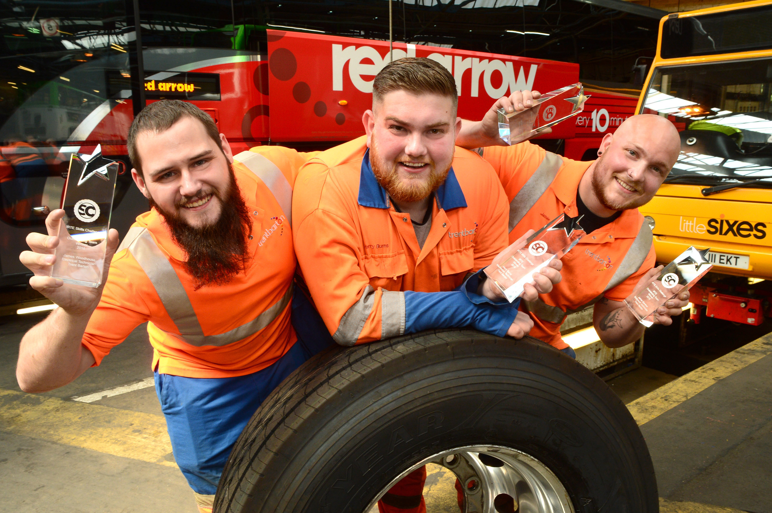 Trio of engineers win top prize in skills awards