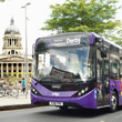 New ultra-low emission indigo buses