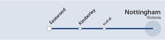 timetable - rainbow one - run by trentbarton
